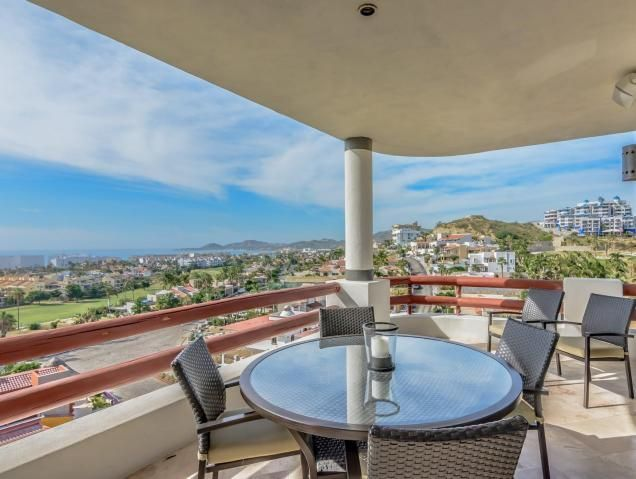 Gorgeous 2 bedroom 2 bath with a very comfortable wrap around terrace with 270 degree  views to enjoy and relax in paradise with all of Alegranza's amenities.Great vacation home and rental unit!