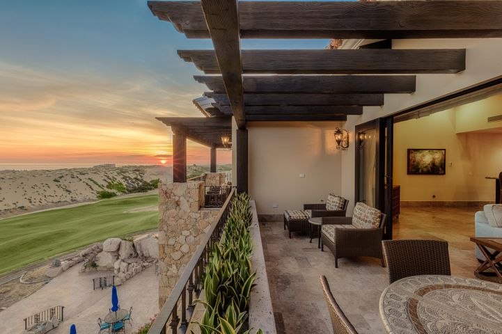 Old world Mexican architecture. hand crafted furnishings and the finest finishes, fixtures and amenities. Unique, local inspired artwork and collectibles.The best penthouse unit on the Dunes Clubhouse is once again available.This property provides you a lifestyle like no other. You are walking distance to the 36th ranked golf course in the world, 3 restaurants, community pool and jacuzzi and front desk.