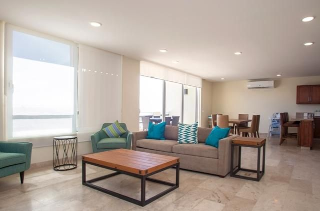 Beautifully decorated, spacious and ready to move in 3 bed 3 bath condo nestled in El Mirador in San Jose del Cabo.  Relaxing ocean views and full moons from your terrace, Ideally located in the Fonatur area, short walks to town, beach, supermarkets, hospital and restaurants that San Jose has to offer.