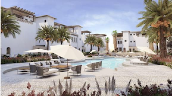 Mavila at Quivira is a village style community nestled in between 9 holes of the new Jack Nicklaus Signature golf course being built at Quivira to complement the already world famous Quivira Golf Club course designed by the Golden Bear himself. The walk-up condos of the Mavila Pueblito offer a cozy feeling of community centered around large common-area pools with grilling areas, jacuzzis and courtyards with fountains. Owners at Mavila enjoy some of the lowest HOA fees of any master planned community in Los Cabos while still having access to all amenities Quivira has to offer: the Quivira Beach Club, the Quivira Golf Club, the restaurants and spas of Pueblo Bonito Resorts, and the activities and amenities of the Q-Life at Quivira. Owners have discounts as well. Fifteen year financing.