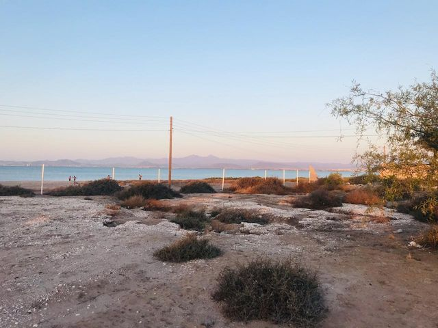 Land for sale in the beach