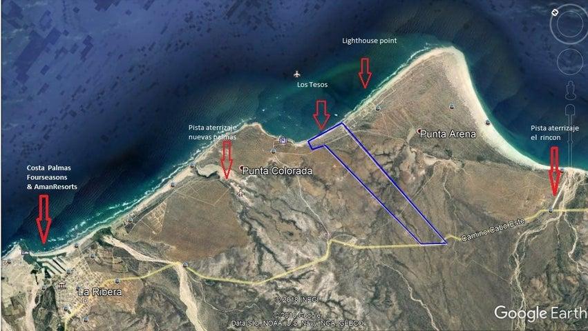 Los Tezos Camino Cabo del Este, East Cape,  23450
