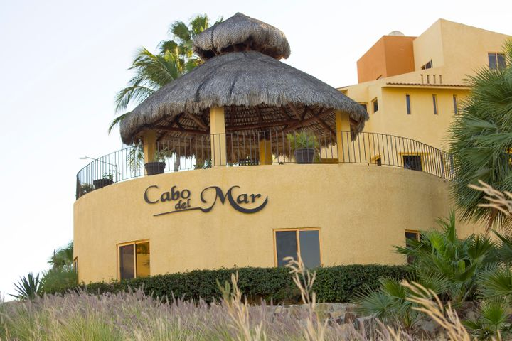 Palapa and outside view