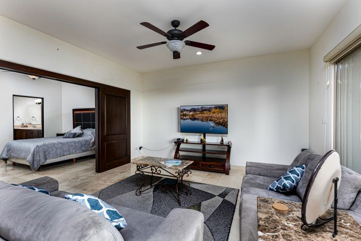 Living room connected with Bedroom