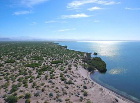 Ocean front to Ensenada la Paz