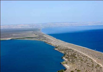 2-Aerial view of El Mogote lots subdivis