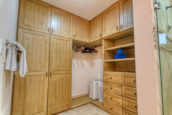 Guest Closet with custom Cabinetry