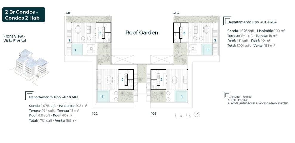 Layout B1 & B2, Roof Garden