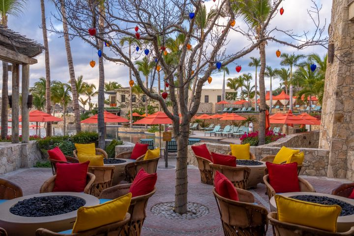 9. Restaurant Courtyard