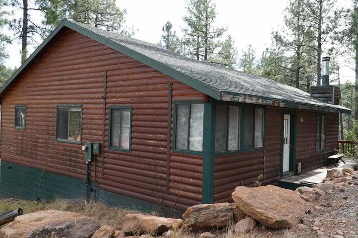 109 W Wild Cougar Way, Christopher Creek, AZ 85541