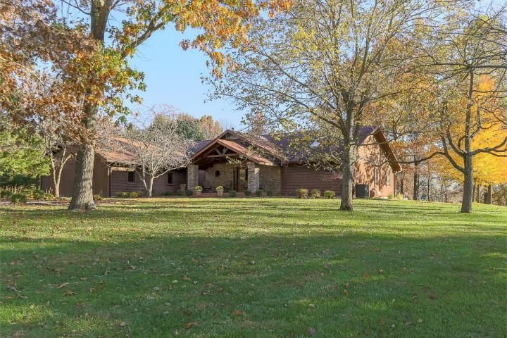Sitting on over 17 acres and only minutes from conveniences.