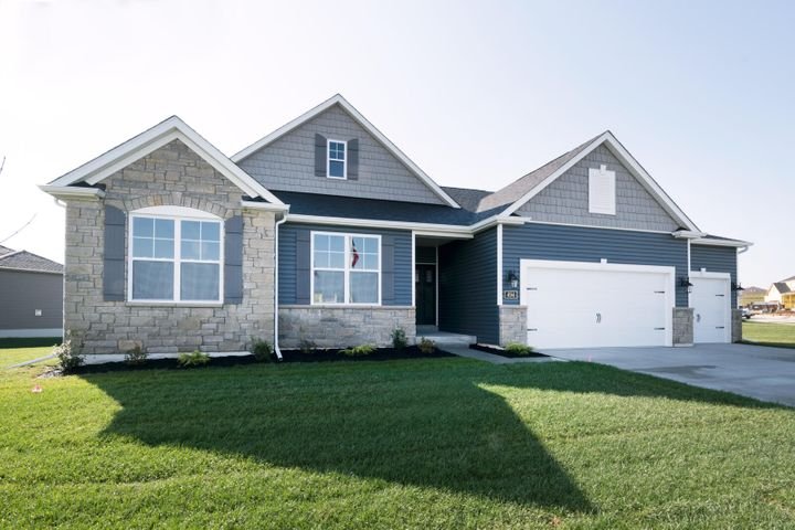 Photo is of the Augusta model, not this home currently under construction.