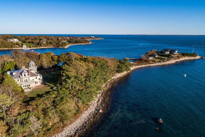 Juniper Point over looking Woods Hole & Martha's Vineyard Sound