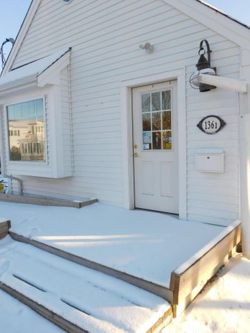 Opportunity to own Retail/Office space at one of the busiest intersections on Cape Cod. Put your business in this high-profile location. This lot consists of two buildings plus two outbuildings. #1361 was built new in 2015. It features over 900 sq Ft. of workspace. Handicap accessible, plenty of parking, central air conditioning, security, and fire alarm systems installed. New septic system in 2015. Large full basement with plenty of room for inventory or storage. The second building, #1363, has 544 sq. Ft of space and is ready to be renovated for more retail/office space. #1363 needs work and is reflected in the listing price. The property is very close to the Bass River and the new waterfront park.