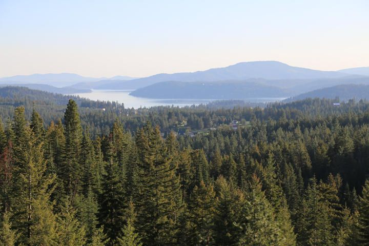 SOUTHERN EXPOSURE & VIEW OF LAKE COEUR D ALENE!