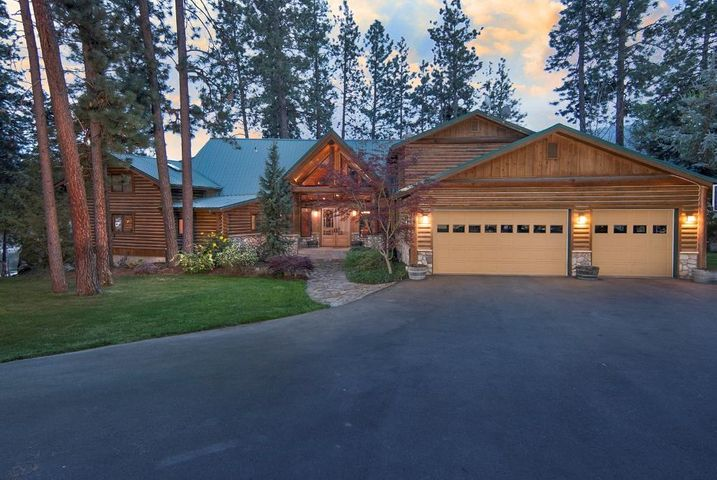 Log Homes For Sale In Post Falls Idaho
