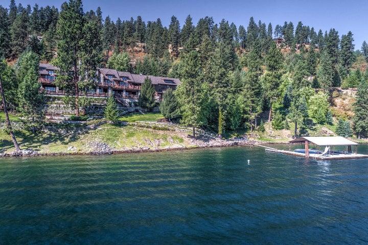 Over 9,000 SF of luxury on Lake Coeur d'Alene