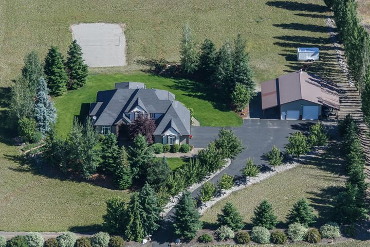 A Birdseye view of the Home and Shop