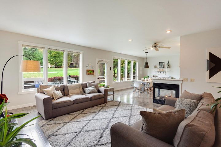 Light bright and beautiful golf views. 4 bedrooms (one is used as office), 2 full baths, Master Suite, 2247 SF all on one level...wow!