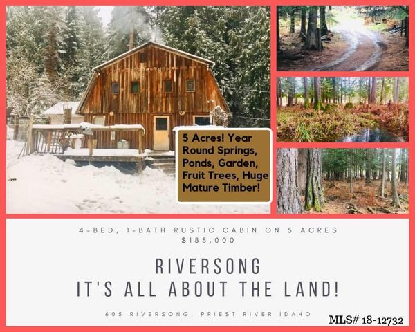 605 Riversong Ln, Priest River, ID 83856