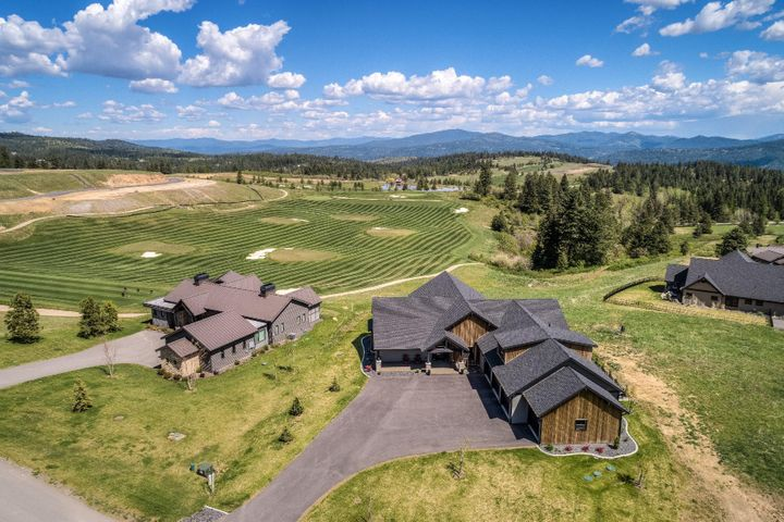 Spectacular 3800+ SF Single level 4 Bedroom beauty with a 4 car garage and an OPEN PLAN design you'll love. Gated amenity rich The Club at Rock Creek subdivision is only 20 minutes to Coeur d Alene and a peaceful place to enjoy life to the fullest!