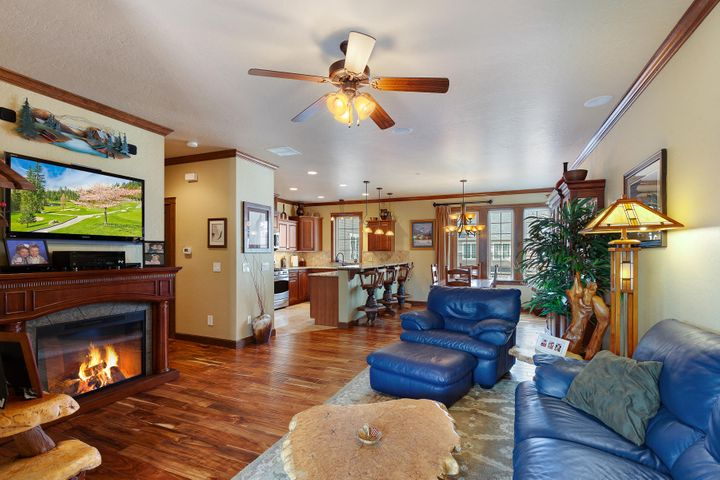 Grand, elegant and inviting 2nd floor living area