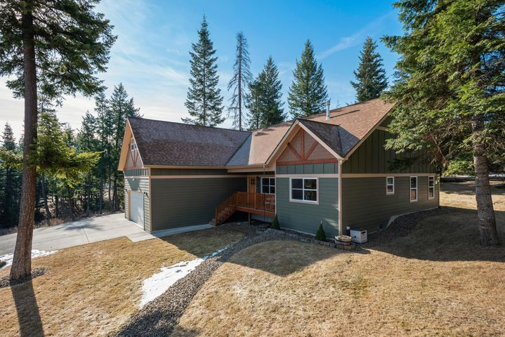 19058 W PANTHER ROCK CT, Hauser, ID 83854