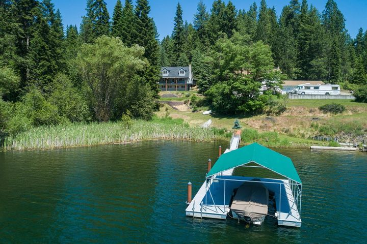 With 171' of waterfront on 1.1 acres, 3 bed, 2 bath and 2174 SF.