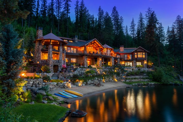 Perhaps the finest waterfront home in the Western U.S.
