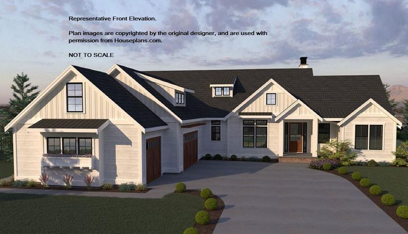 Your dream home awaits in Lost Creek Estates! Superior custom home builder will customize this wonderful plan, with 3 BRs, 2.5 BAs & den/office on a single level. Almost 2700 SF of top end finishes and features, with covered front porch, foyer, split BR design with private master suite, and open concept living. Large, welcoming great room, indoor/outdoor fireplace from kitchen nook to covered back patio, where you can relax while taking in views of Rathdrum Prairie and mountains beyond! 3/4 acre lot backs to view easement with no rear neighbors. Come to Lost Creek and find yourself!