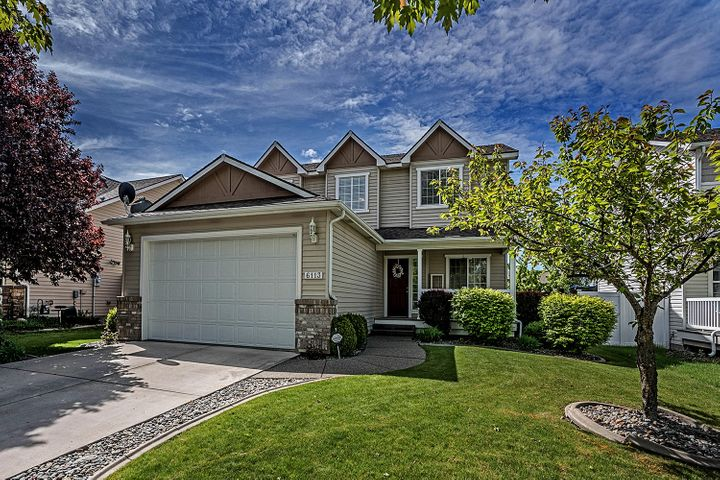 Located in desirable Coeur d'Alene Place this home is a must see! Custom built theater room with projection screen, theater seats and pool table included. This large home also boasts a living room and family. Along with 5 bedrooms 3.5 bathrooms.