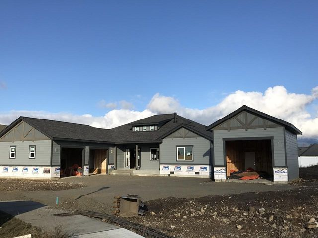 Luxurious single level living in this brand new construction home with a SHOP on nearly 1/3 acre in beautiful Meadow Grove. 3bd 2ba plus formal dining/office w/2300sf. Features include granite countertops throughout, high end SS appliances, dual vanities in guest bath and master bath, soaker tub w/tile shower in master, tub w/tile surround in guest bath, cozy gas fireplace w/rock surround and wood mantle in the living room, vaulted ceilings in kitchen and living room, Solid Core doors, all in a prestigious neighborhood w/a 2 acre park. Still time for you to pick some finishes. Call for more information today!
