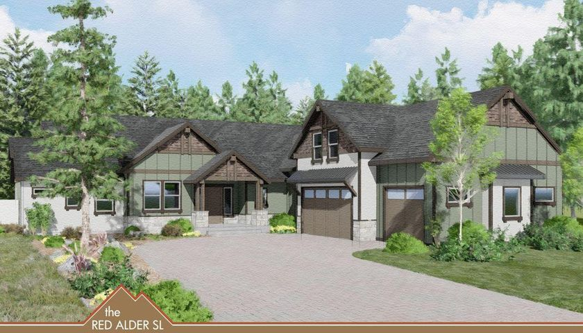 Enjoy North Idaho living at it's finest on this wooded, level 1.3 acre parcel in Lost Creek Estates. Live away from the hustle & bustleof the city but enjoy the convenience of city type utilities & public maintained roads. This home is to be built by one of the area's finestcustom builders & will have the highest quality of finishes inside & out. With 3254 sq ft of living space that is duel zoned for heating comfort includes a 1/2 bath in a large bonus area affording extra space for family enjoyment. Main floor includes a luxurious master suite with walk in shower & walk in larger closet. Enjoy the chef's kitchen that opens into a large dinning acre & great room with gas fireplace & out to covered patio to enjoy those summer Bbq's & expansive southeast view.