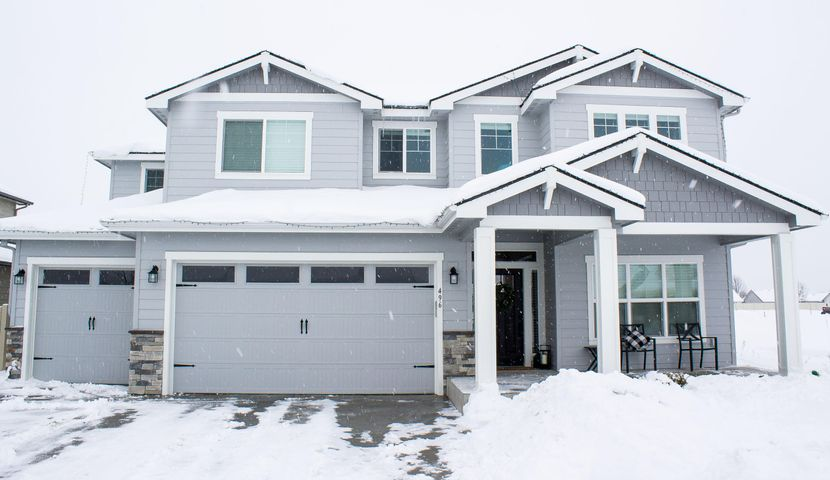 Gorgeous! A Greenstone Sequoia home plan with ALL the upgrades, move in ready now. The 3,120 Sq ft home is conveniently located near Prairie Falls Golf Club & nestled amid the Selkirk Mountains & Spokane River. Wonderful home plan with walk in closets in every bedroom, laundry room upstairs, den with double doors, mudroom with built-in, walk in pantry, the pendants above the huge kitchen island are from Pottery Barn. Covered patio has extended concrete & hook-ups for a hot tub, timers for your holiday lights & LVP flooring are just a few of the upgrades in this dream home schedule your showing today this stunner won't last long.