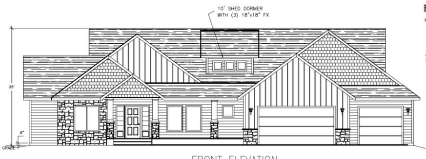 CUSTOM Home to be Build in Brand New Exclusive Subdivision featuring 5 acre parcels in Garwood.  All Paved Roads, Natural Gas and Cable Internet.  This is a Custom Home being Build by a Long Time Custom Home Builder in the area.  Home Just under 2600sqft featuring a large 3 car garage with additional storage/shop area.  Open Concept, Split Bedroom Floor Plan with 3 Bed, 2.5 bath plus an Additional Room for Formal Dining/Office.  Large Covered Front and Back Porch/Patio.  Too Much to list about this custom home.   Shop Options Available.