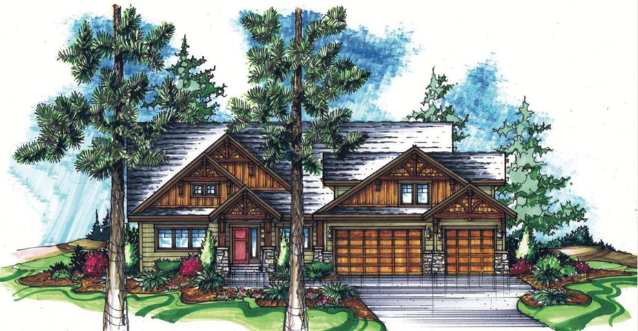 WELCOME TO ''THE GLADES'', RATHDRUMS NEWEST NEIGHBORHOOD OF LUXURY HOMES ON 5 ACRE PARCELS! 3 Bed/ 3 Bath 2690 SQ FT features main level living. To be built by award winning builder,  ''The Kalispell'' will charm you with its rustic elegance. Standard features include: triple layer cedar facia, beam and shingle accents, masonry exterior finishes, solid core wood entry door, granite countertops with full tile backsplash, stainless steel appliances, floor to ceiling masonry gas fireplace, hardwood floors with tile accents, mud set tile showers, stain/lacquer solid core doors and trim and much more! Additional floorpans available with different pricing. TREED PARCELS, CLOSE TO TOWN, PAVED ROADS, SHOPS/BARNS/LIVESTOCK OK! GORGEOUS SETTING & VIEWS, CALL TO SCHEDULE YOUR BUILDER MEETING NOW!