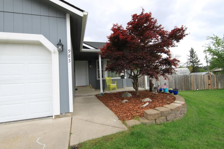 Great Post Falls Rancher on a Basement.  Home was totally rebuilt in 2014.  5 Bedrooms 3 baths.  Main Floor master and an additional master in the basement.  Large family room, new flooring in most of the house.  TV, Hot tub, Storage shed and all Kitchen Appliances stay.  Large .25 acre lot.  RV Parking.  NO HOA or CC and R's on this one.  Large back yard possible room for a shop.