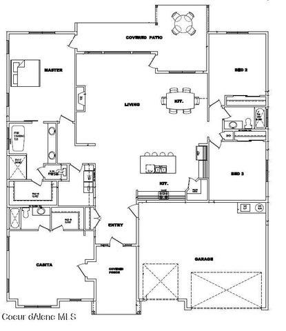 1458 W Remington Rd, Athol, ID 83801