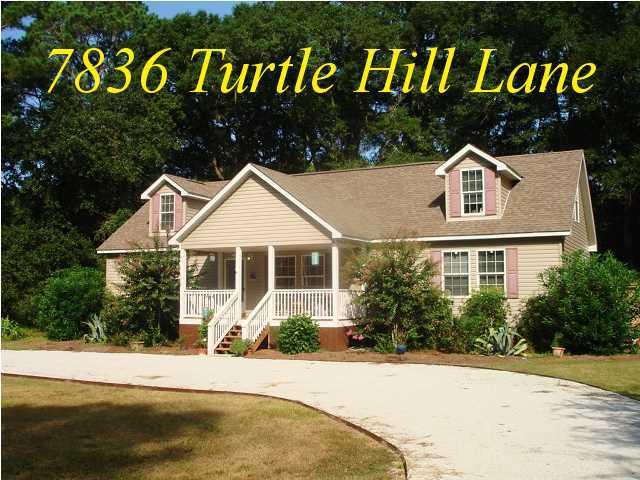7836  Turtle Hill Lane Edisto Island, SC 29438