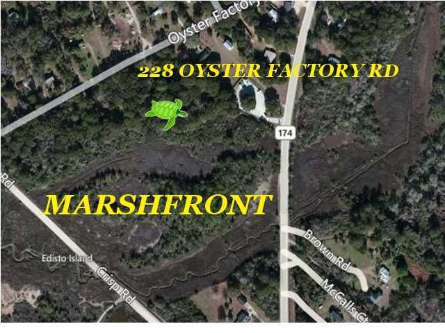 228  Oyster Factory Road Edisto Island, SC 29438