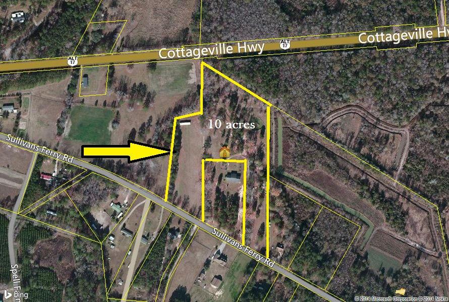 Sulllivans Ferry Road Cottageville, SC 29435