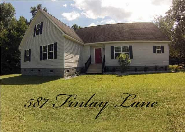 587  Finlay Lane Cottageville, SC 29435