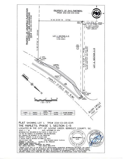 220  Hamlet Circle Goose Creek, SC 29445