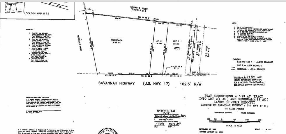 Savannah Highway Adams Run, SC 29426