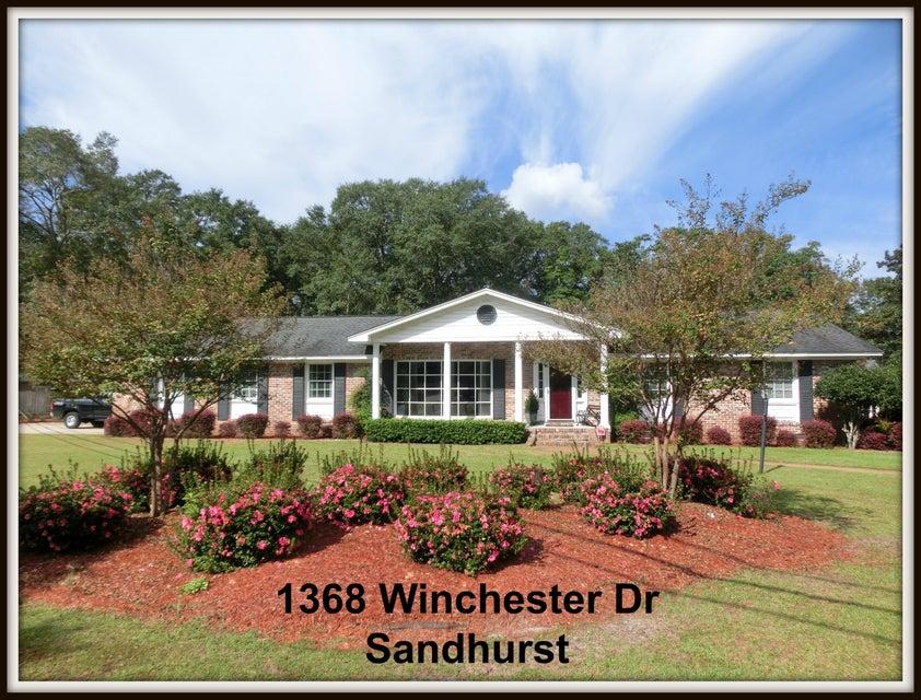 1368  Winchester Drive Charleston, SC 29407