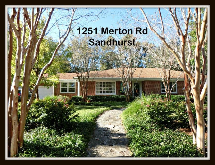 1251  Merton Road Charleston, SC 29407