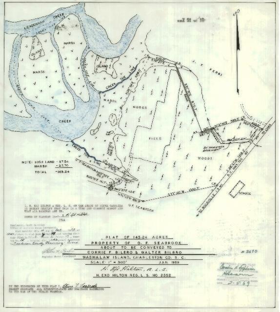 Allandale Plantation Road Wadmalaw Island, SC 29487