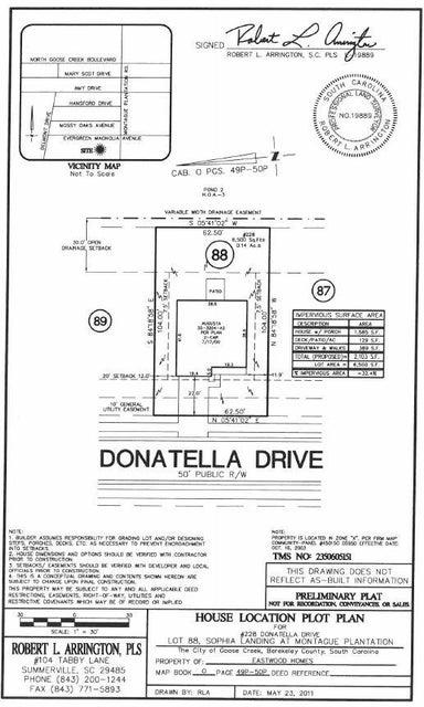 228  Donatella Drive Goose Creek, SC 29445