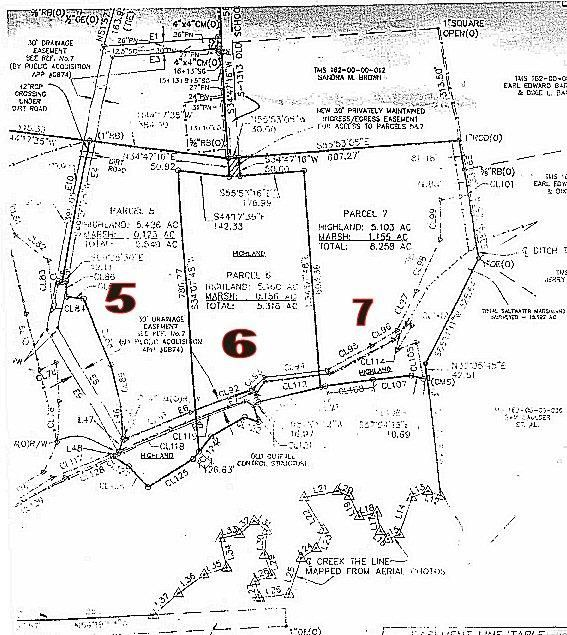Lot 6  Old School House Road Meggett, SC 29449