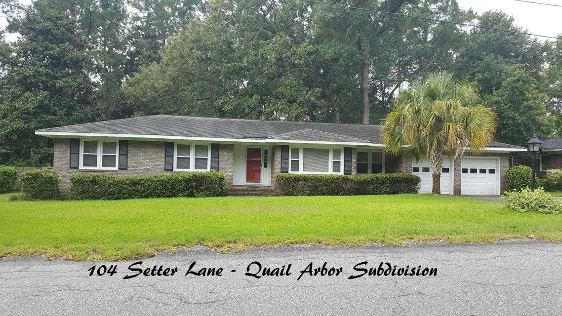 104  Setter Lane Summerville, SC 29485